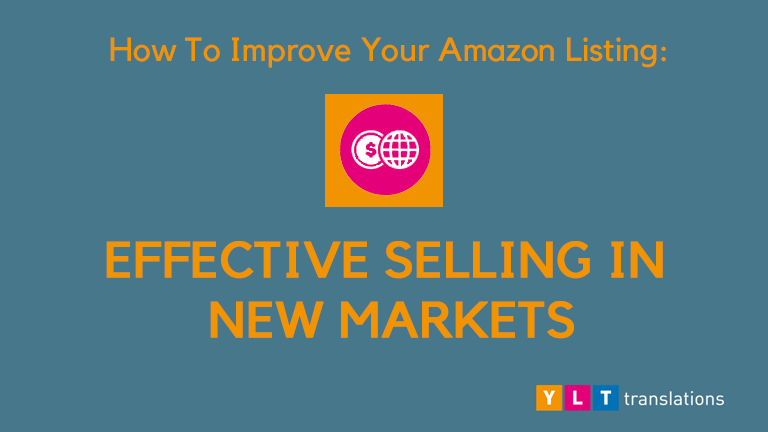 How To Improve Your Amazon Listing : Effective Selling In New Markets