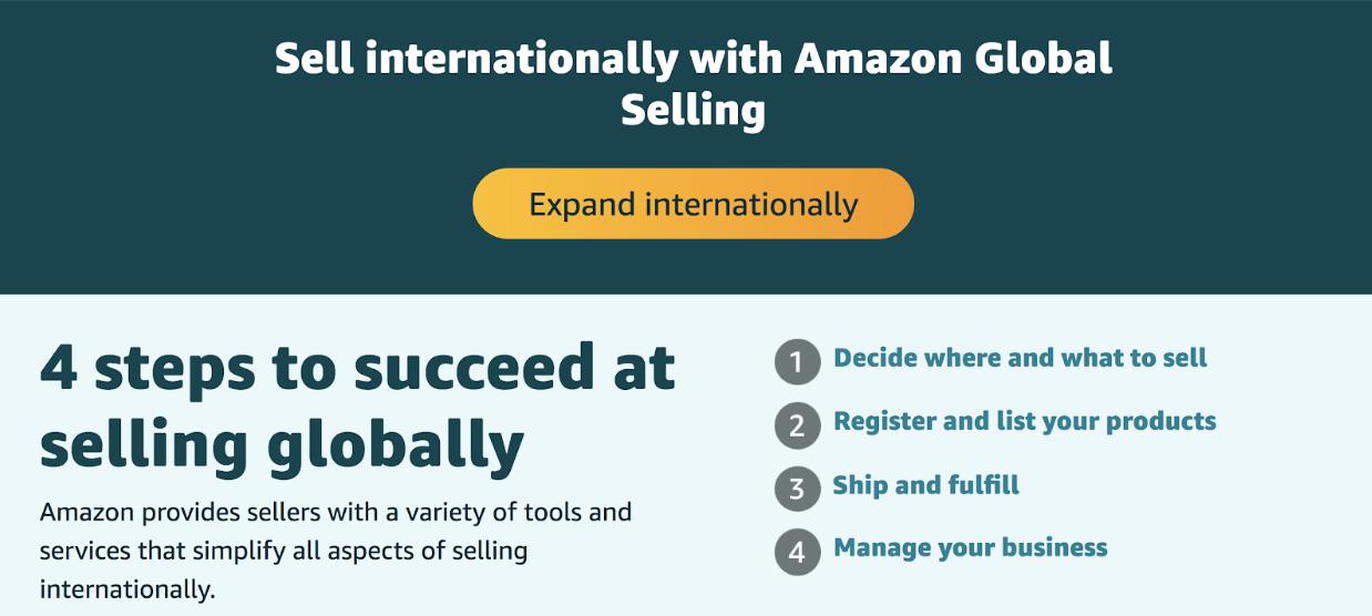 amazon global selling program what is it